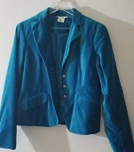 Soft blue jacket